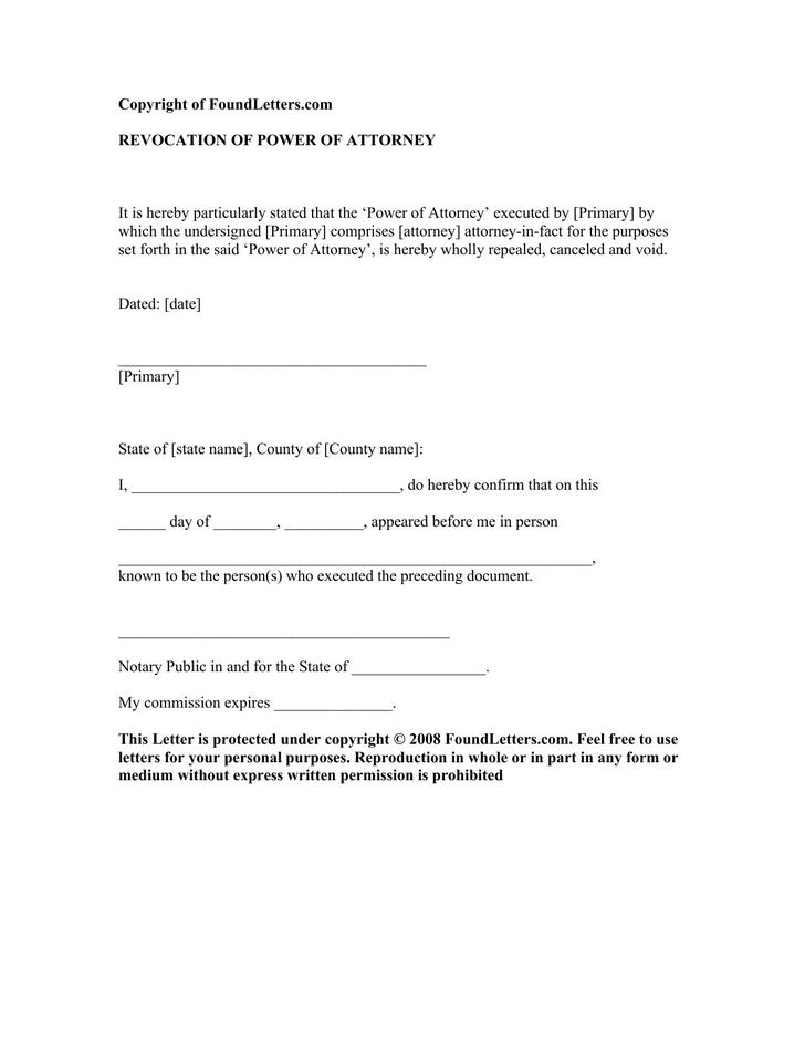 8 Notarized Letter Template Free Download
