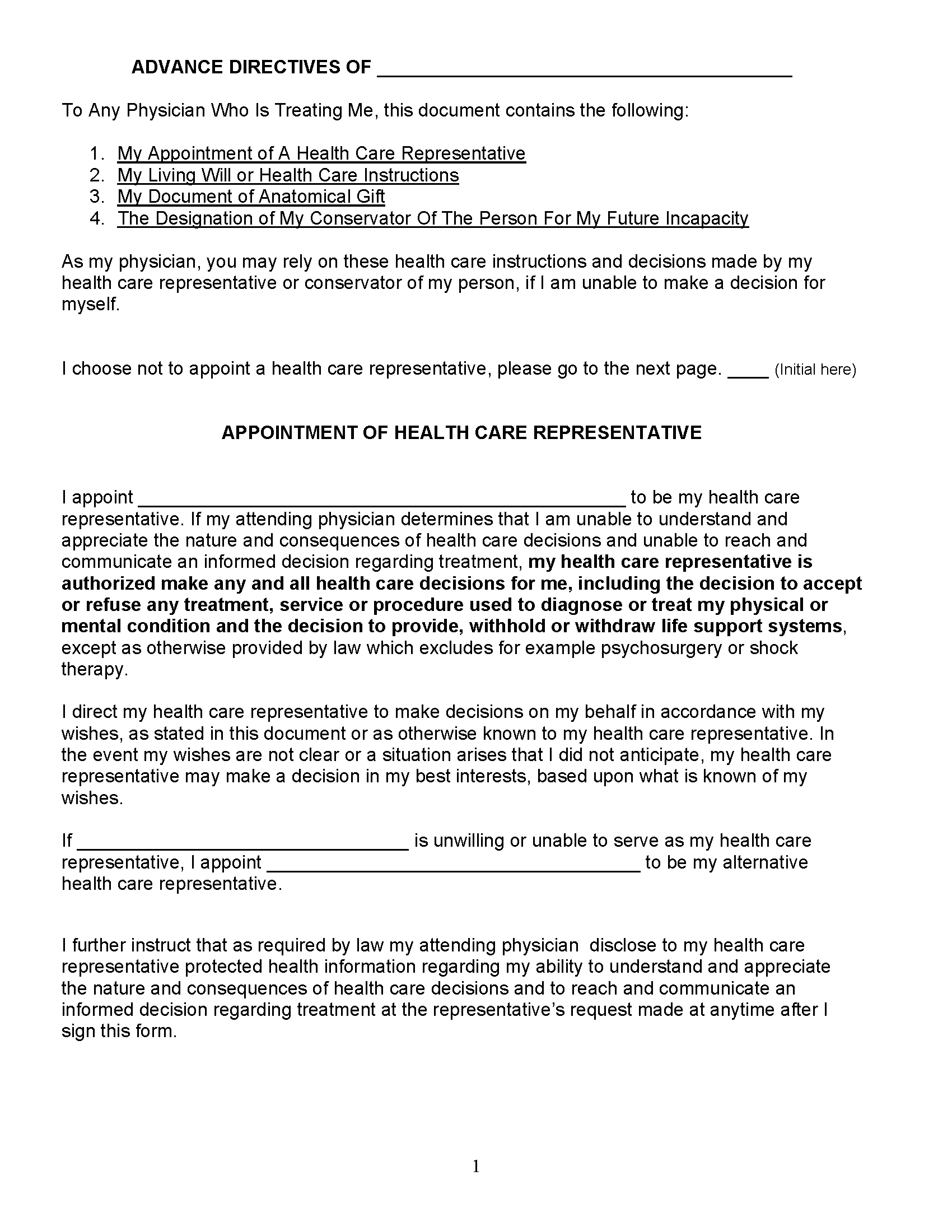 Connecticut Medical Power Of Attorney Fillable PDF