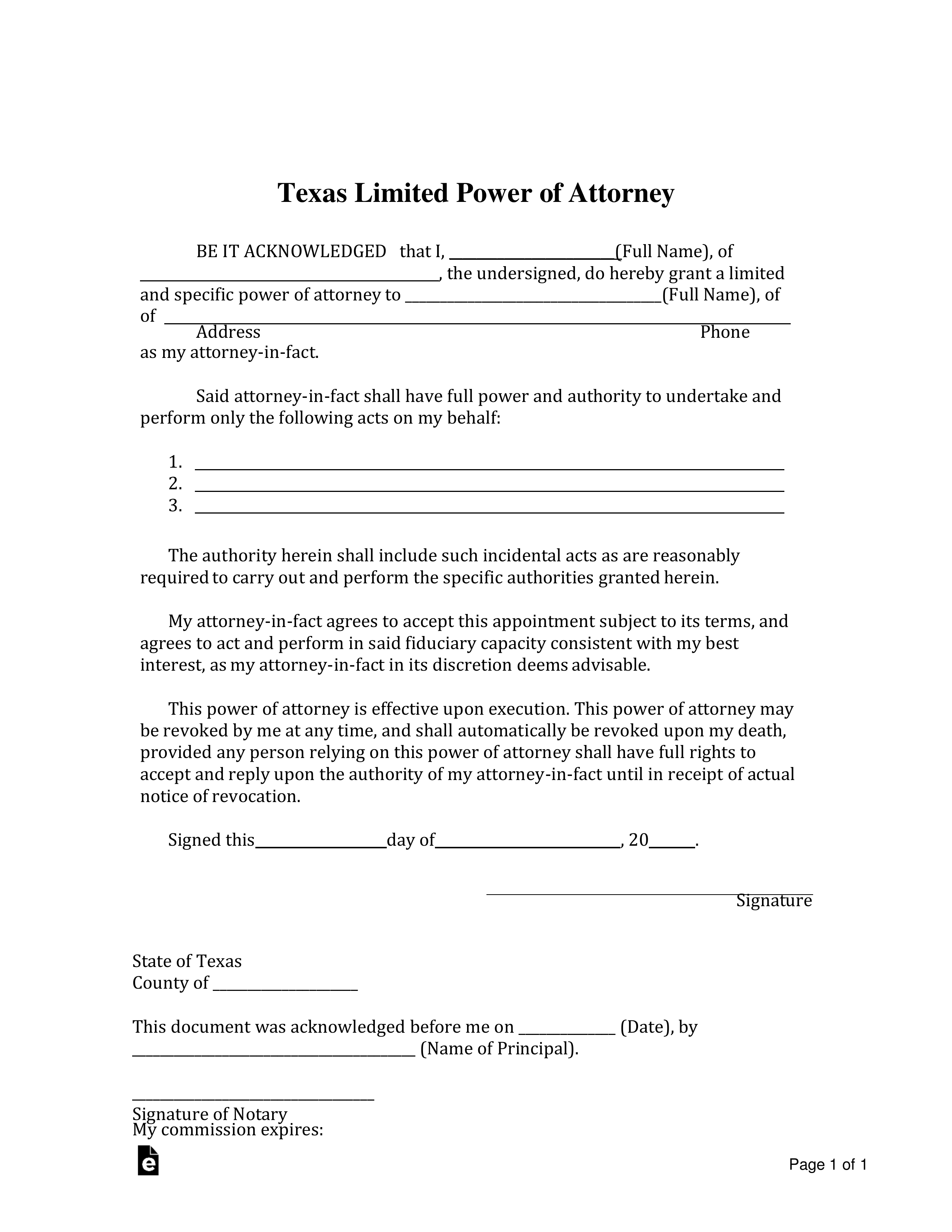 Eliminate Your Fears And Doubts About Power Of Attorney