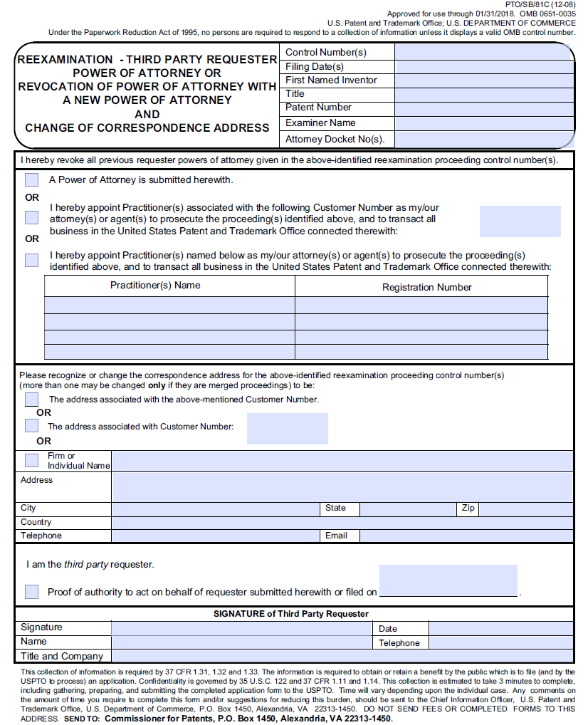 Power Of Attorney Form Uspto Seven Ways On How To Get The
