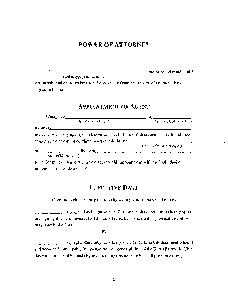 Power Of Attorney In Spanish PDF Asbestos Meaning